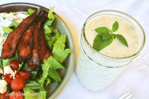Extra Creamy Ranch - A Low Carb, Keto Friendly Dressing Or Dipping Sauce