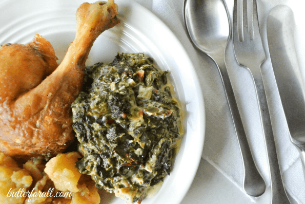 The Best Creamed Greens You'll Ever Taste