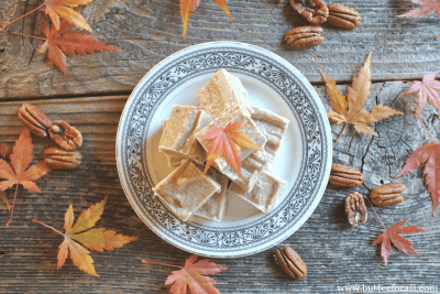 The most delicious combination of coconut and pecan butter with a sweet maple flavor.