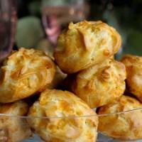 cheddar cheese gougères