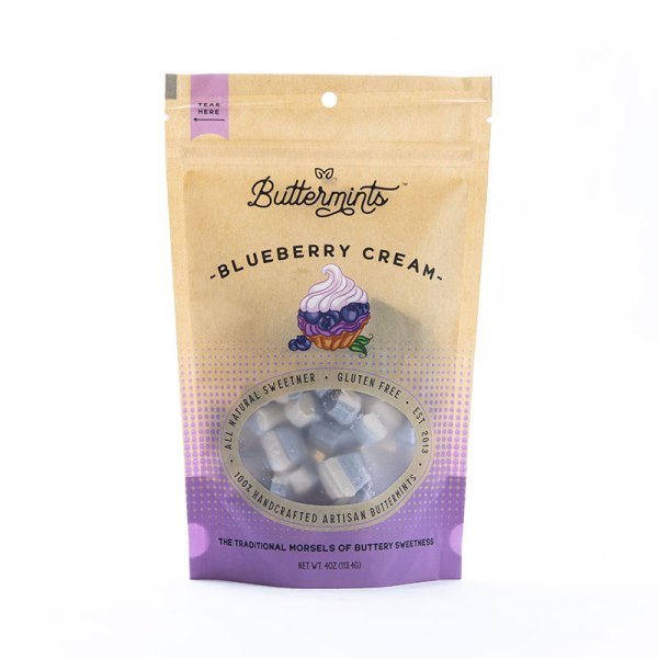Blueberry Cream Buttermints