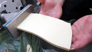 Laminating butter sheets