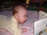 Poppy reads