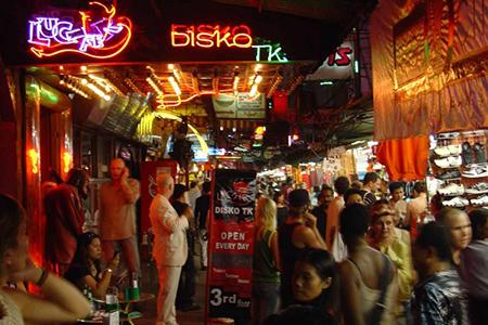 Quartier rouge Bangkok