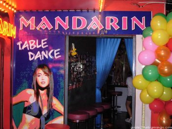 Bangkok Agogo Mandarin Table Dance