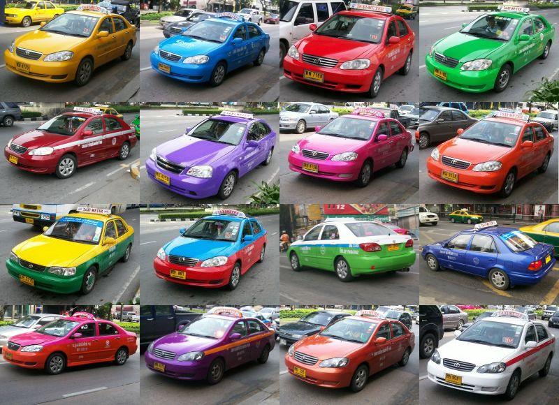 taxi meter bangkok