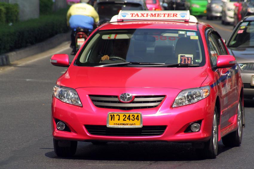 thailande taxi meter bangkok