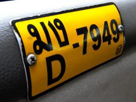 bangkok taxi numero