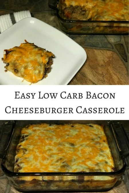 low carb bacon cheeseburger casserole long pin