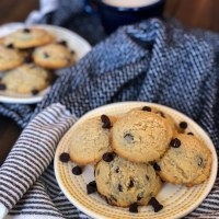 Thick and Soft Keto Chocolate Chip Cookies
