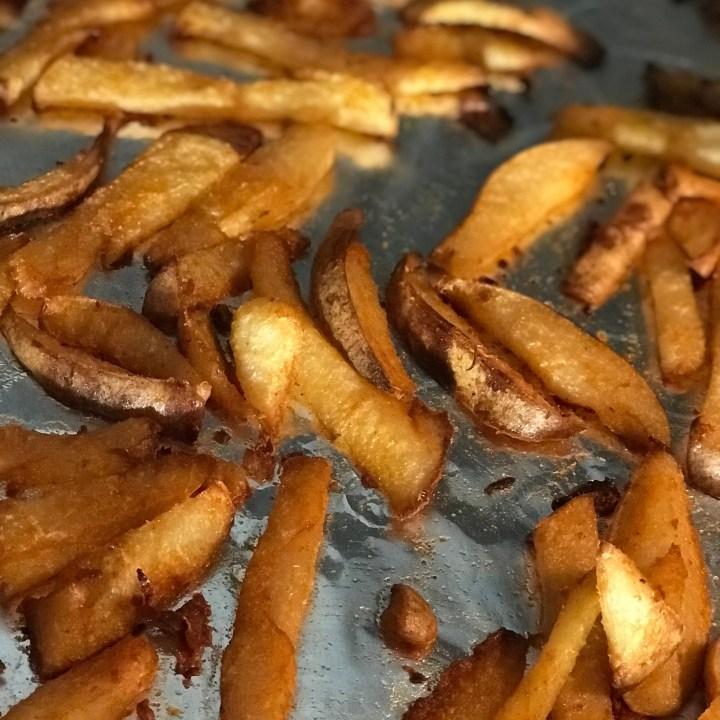 Low Carb Crispy Jicama French Fries
