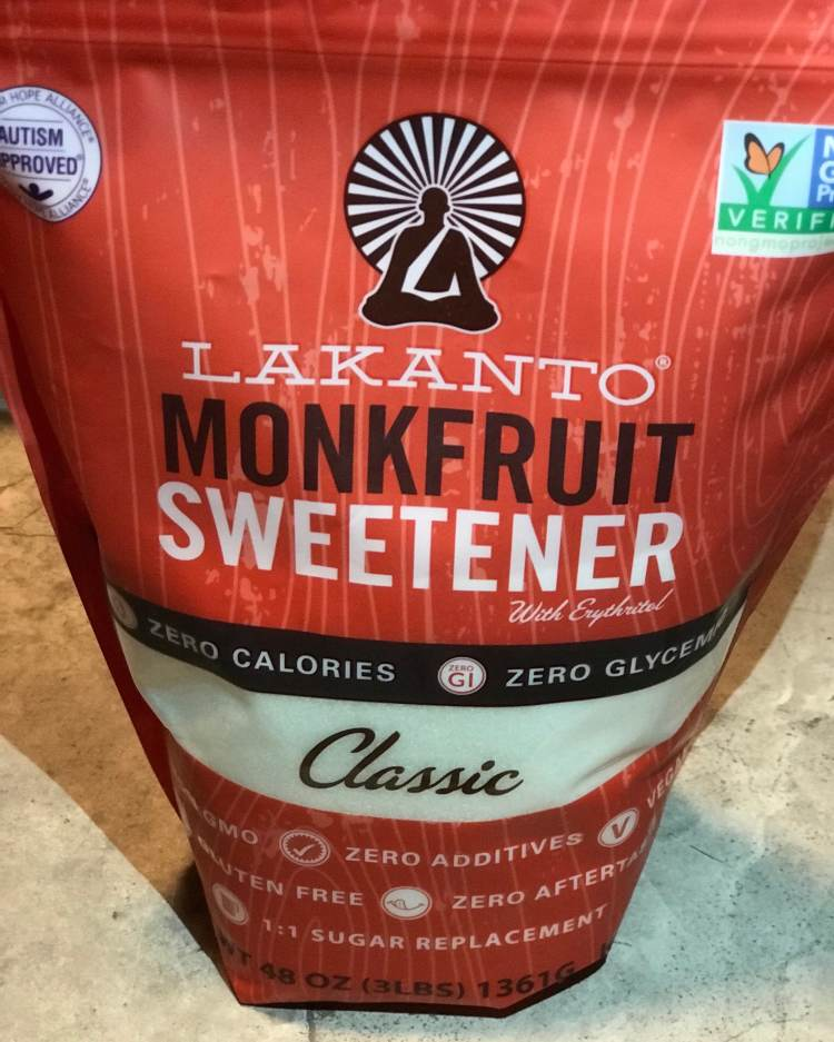 3 pound bag of monk fruit