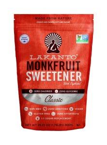 Lakanto Classic Monkfruit Sweetener