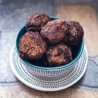 Cocoa Peanut Butter Truffles
