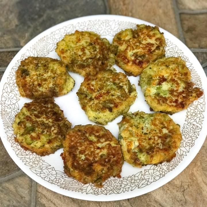 Easy Cauliflower Broccoli Fritters
