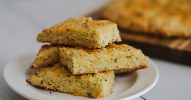 Cheesy Keto Garlic Bread
