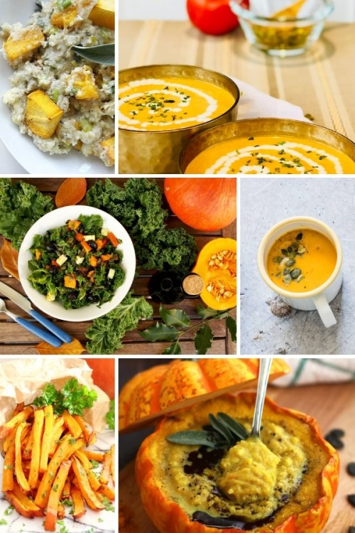 collage of 6 keto dishes and side images