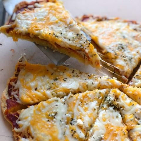 Tasty Keto Pizza With Homemade Sauce