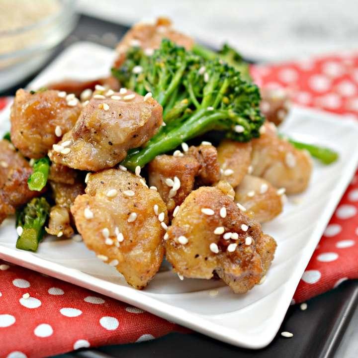 Tasty Keto Sesame Chicken