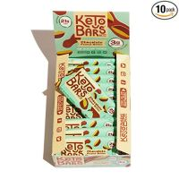 Keto Bars! [Chocolate Peanut Butter, 10 Pack]