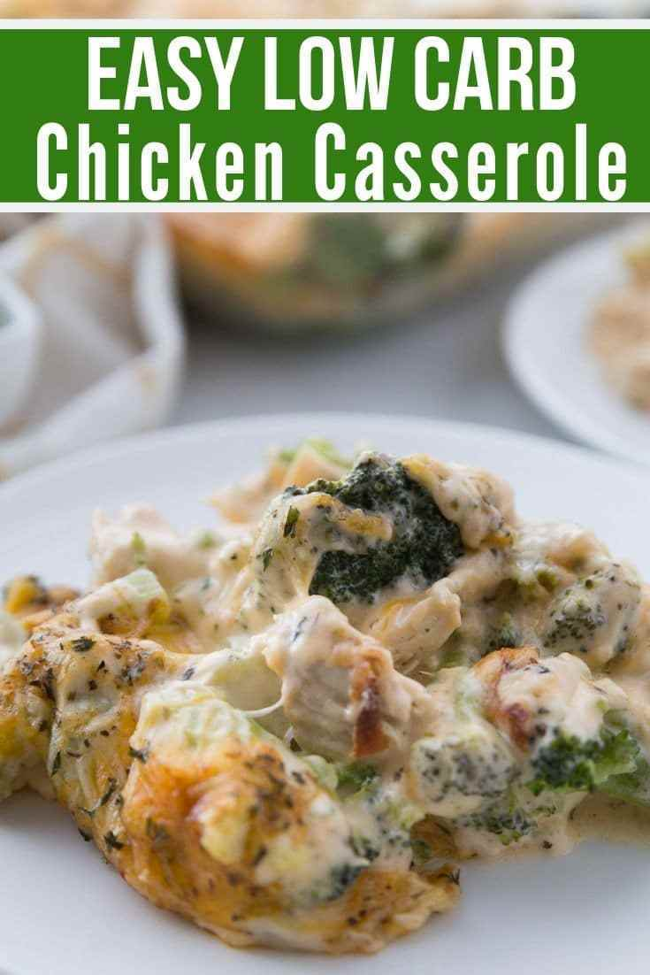 Low Carb Chicken Casserole