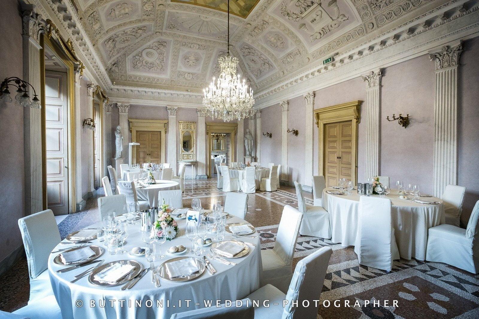 Villa Caroli Zanchi a Stezzano Bergamo