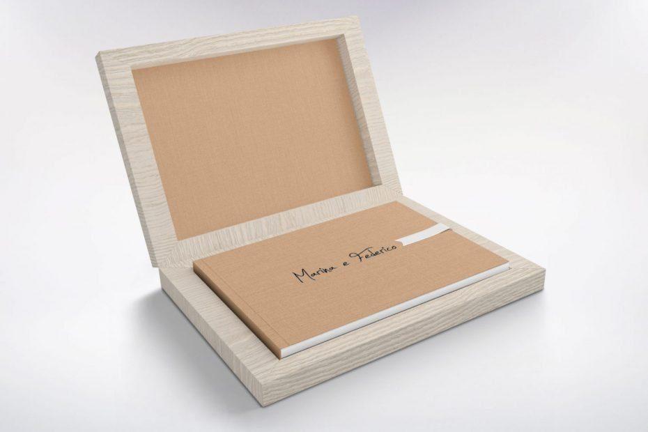 Album in legno e Acero