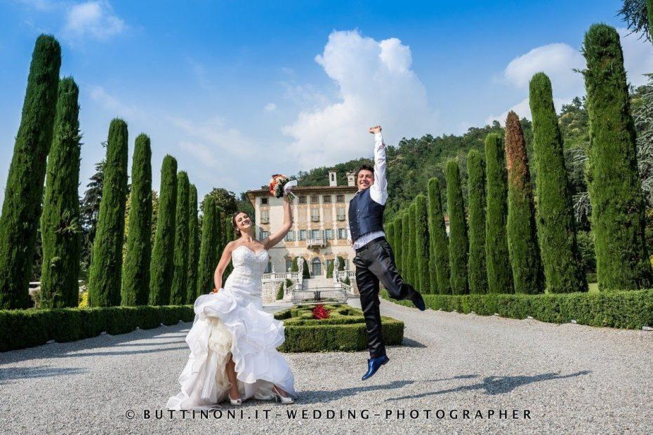 Fotografo Sposi Matrimonio Viale Ristorante Villa Canton Trescore Balneario Bergamo Reportage senza pose