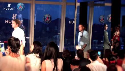 Hublot fashio show with Paris Saint-Germaine - Buttondown.tv