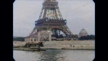 Eiffel Tower Image Paris in the 1890 - Travel films - Buttondown.tv