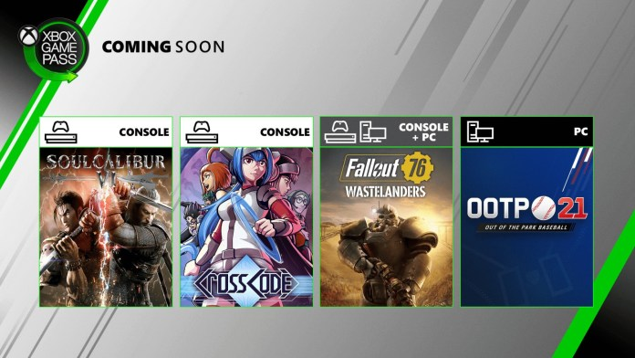 Four More Games Are Heading to Xbox Game Pass
