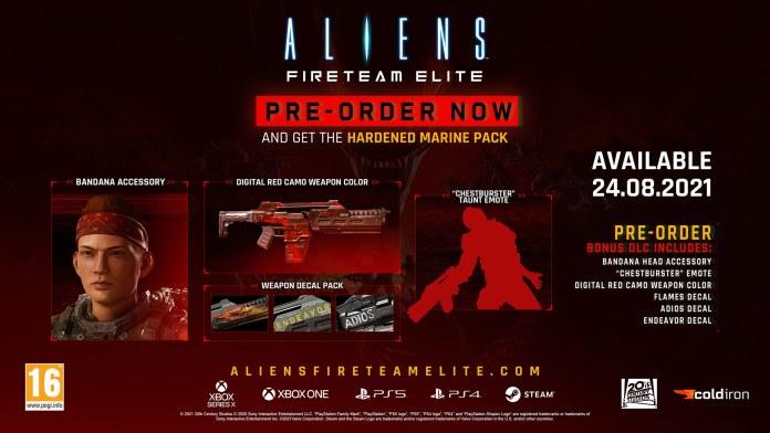 Aliens: Fireteam Elite Preorders Are Open
