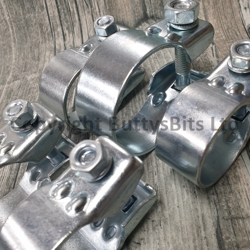 bb 269 912 heavy duty exhaust clamp set of 5