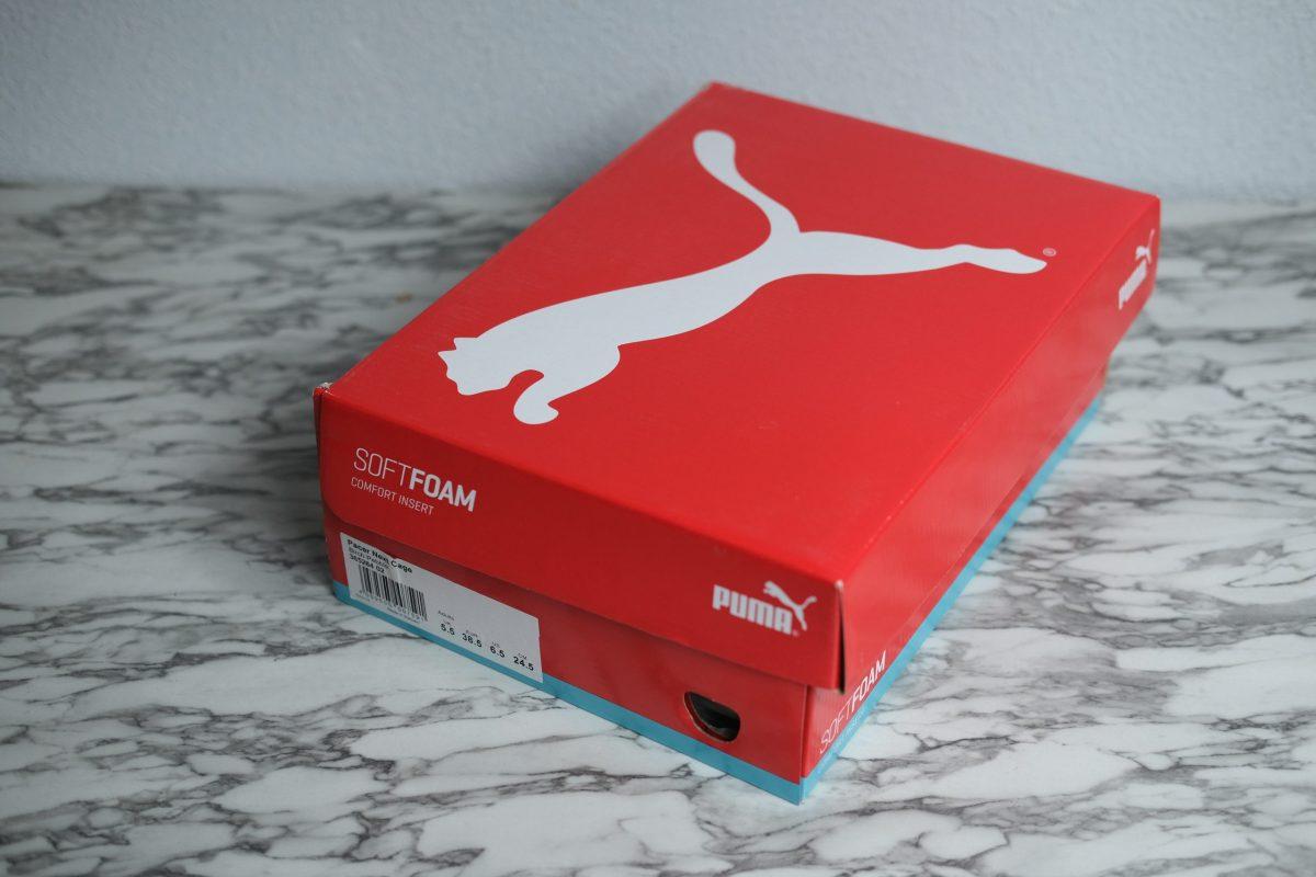 original puma shoes box
