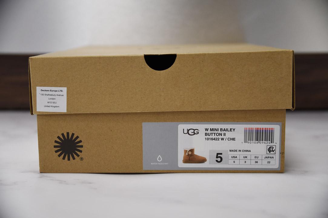 oryginalne buty UGG etykieta