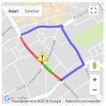 Kruisstraat afgesloten