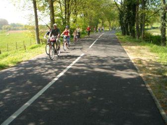 fietstocht en rozen maken 030
