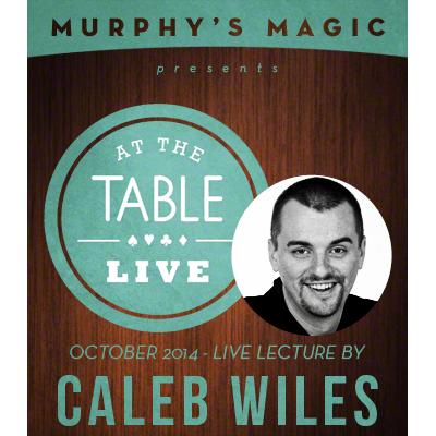 At the Table Live Lecture - Caleb Wiles 10/15/2014