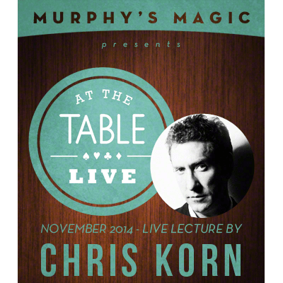 At the Table Live Lecture - Chris Korn 11/12/2014