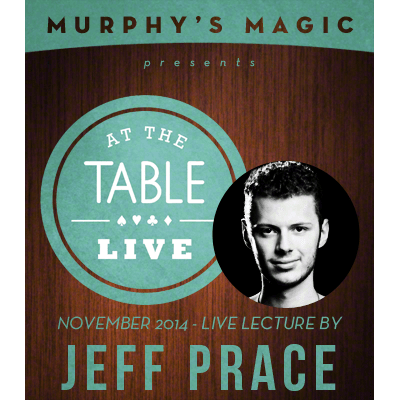 At the Table Live Lecture - Jeff Prace 11/26/2014