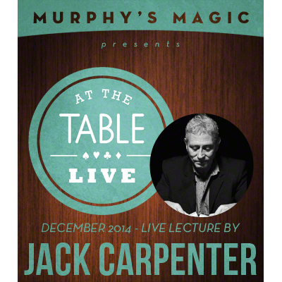 At the Table Live Lecture - Jack Carpenter 12/3/2014