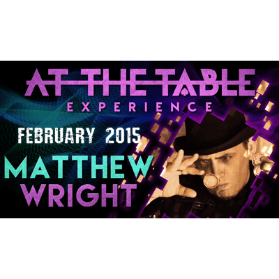At the Table Live Lecture - Matthew Wright 2/04/2015