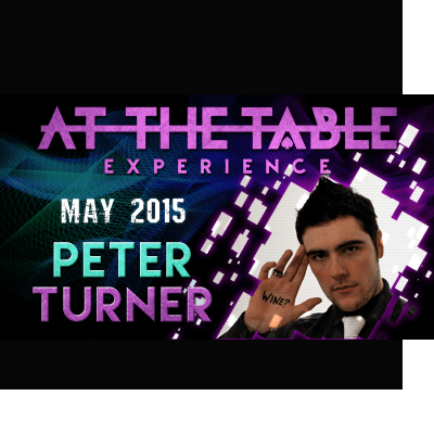 At the Table Live Lecture Peter Turner 5/20/2015