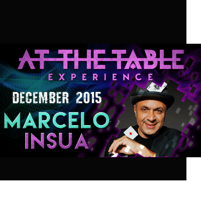 At the Table Live Lecture Marcelo Insua December 2nd 2015
