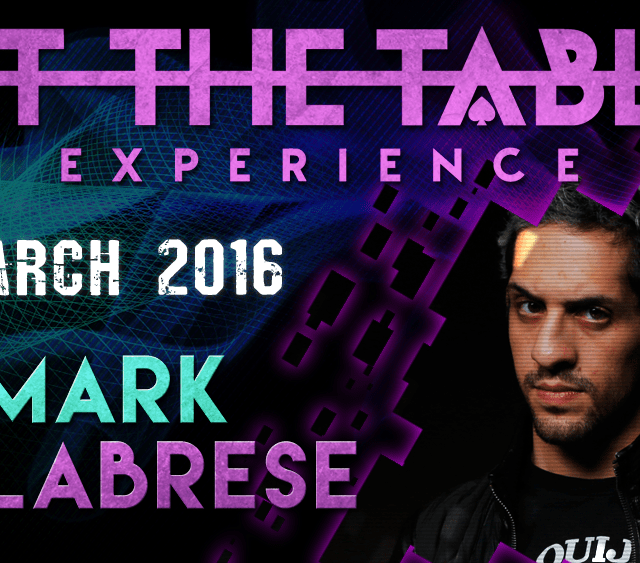 At the Table Live Lecture Mark Calabrese March 16th 2016