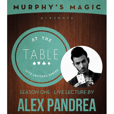 At the Table Live Lecture - Alex Pandrea 5/7/2014