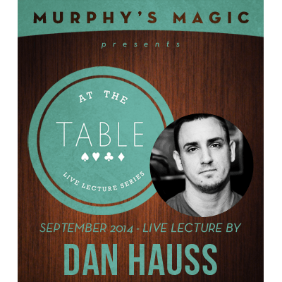 At the Table Live Lecture - Dan Hauss 9/10/2014