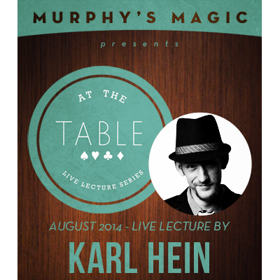 At the Table Live Lecture - Karl Hein 8/6/2014