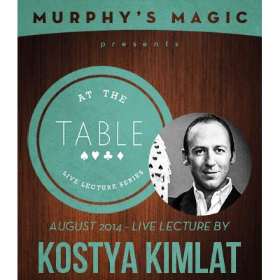 At the Table Live Lecture - Kostya Kimlat 8/13/2014