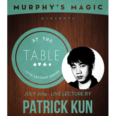 At the Table Live Lecture - Patrick Kun 7/9/2014